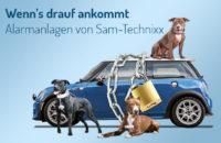 Auto Alarmanlagen, Einbau von SAM-Technixx München