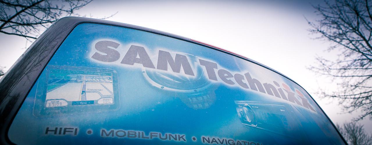 SAM-TECHNIXX Navigation – damit Sie sicher ankommen