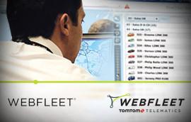 Fahrzeugortung von Webfleet