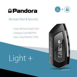 Auto Alarm Alarmanlage Pandora light Plus