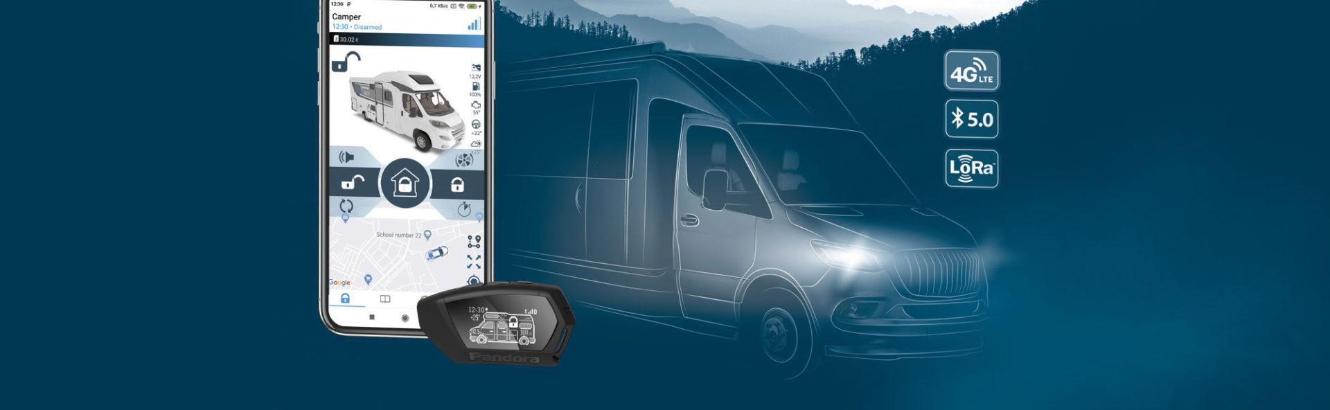 Wohnwagen Alarmanlage Camper pro Sam Technixx