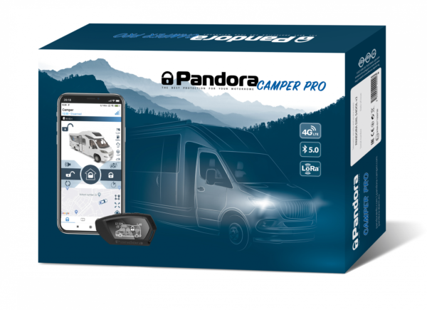 Pandora Camper Pro V2 Nachrüstung Wohnmobil Alarmanlage bei SAM-Technixx